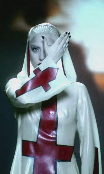 illuminati symbols Lady Gaga Alejandro hidden eye red cross