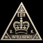British MI5 Pyramid and All-Seeing Eye