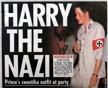 illuminati symbols Prince Henry Nazi Swastika