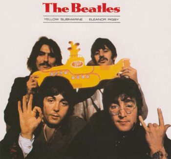illuminati symbols beatles yellow submarine single 666 devils horns
