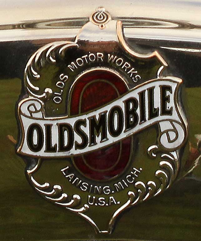 First Oldsmobile logo
