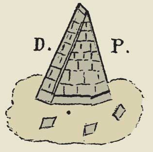 Pyramid as used by Adam Weishaupt's Bavarian Illuminati