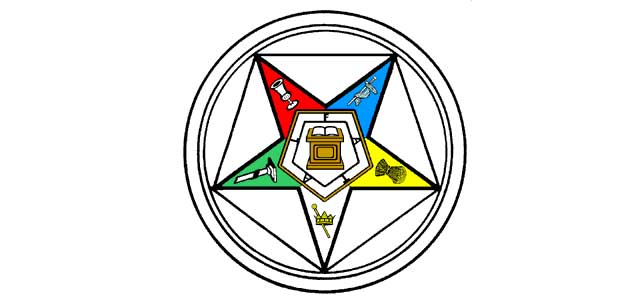 Order Of The Eastern Star Inverted Pentagram Illuminati Symbols