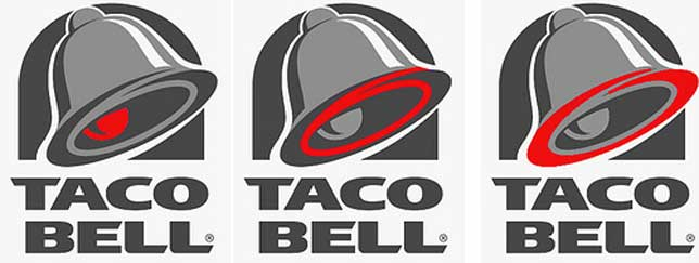 Taco Bell Logo taco bell 666 | illuminati symbols
