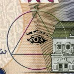 Ukraine Currency All Seeing Eye in a Triangle