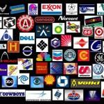 Illuminati Symbols Corporate Logos Collage
